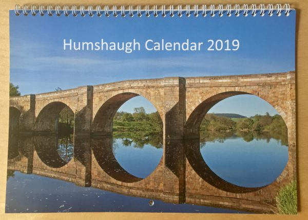 Humshaugh 2019 Calendar back