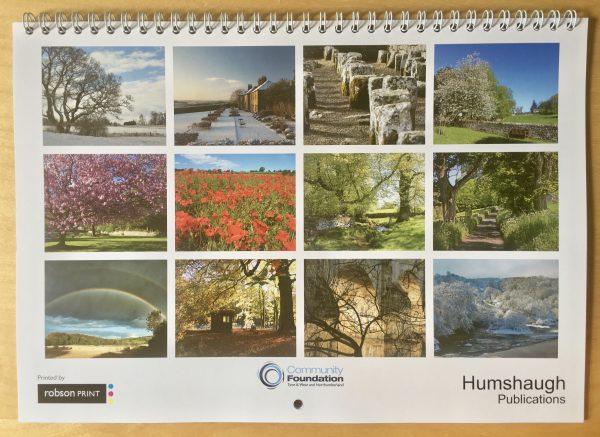 Humshaugh 2019 Calendar front